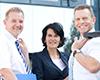 Unsere Mitarbeiter beraten Sie kompetent in allen Fragen rund um Ihre Finanzplanung.