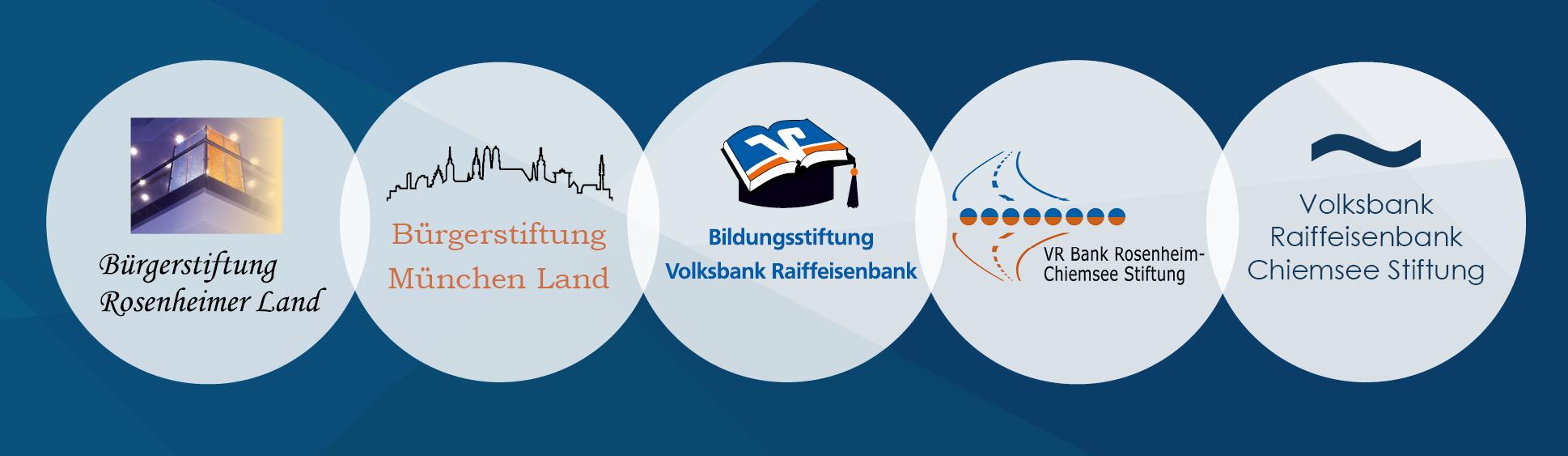 Stiftungen der Volksbank Raiffeisenbank Rosenheim-Chiemsee eG