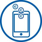 Geld senden und anfordern mit der App-Funktion Kwitt