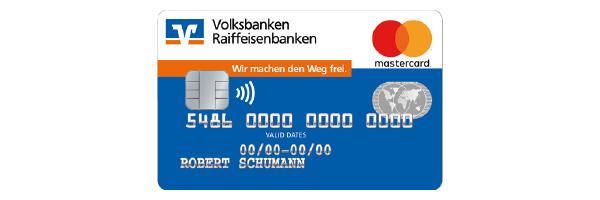 Standartmotiv Kreditkarte der meine Volksbank Raiffeisenbank eG